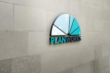 Planworks Logo Sign