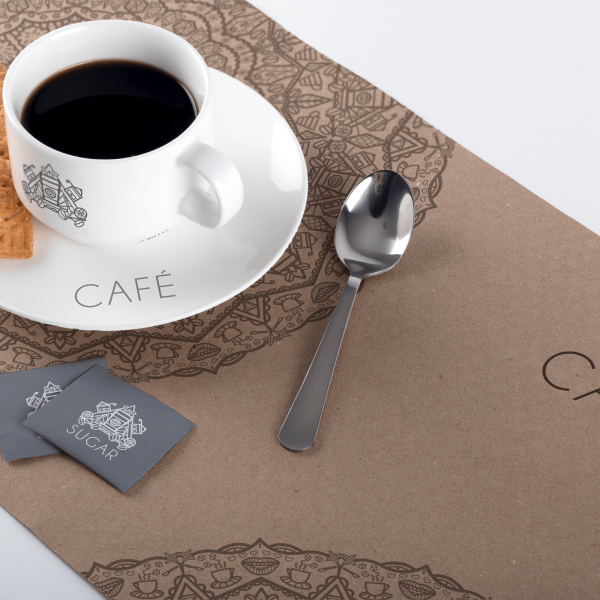 Coffee Cup on Placemat