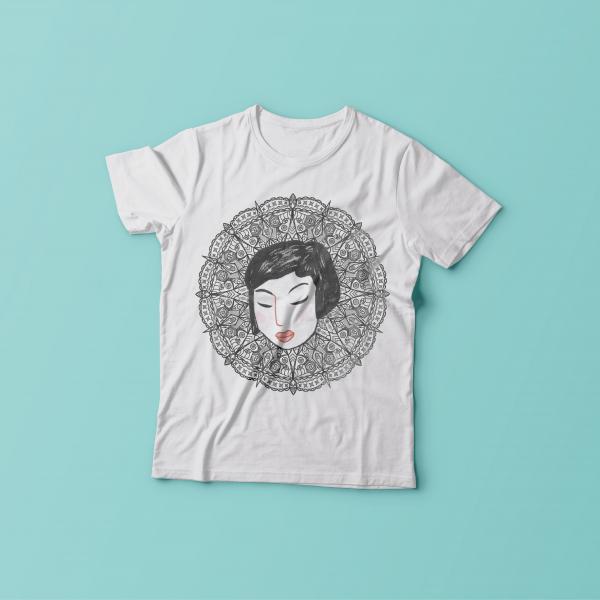 Mandala Lady T-Shirt