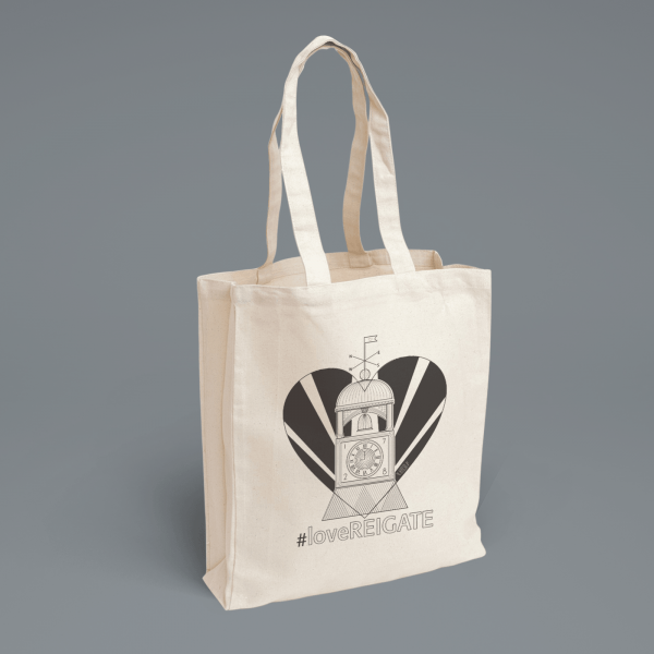 LoveReigate Tote Bag