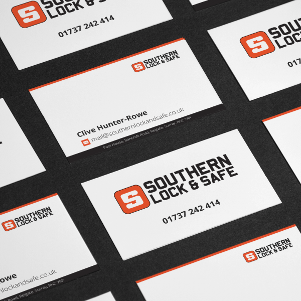 Southern Lock and Safe Business Card