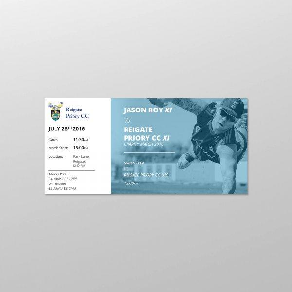 Jason Roy Ticket